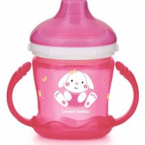 Canpol Babies Nevylievací hrnček Sweet fun zajačik