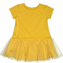 K-Baby Šaty s tilom – horčicová