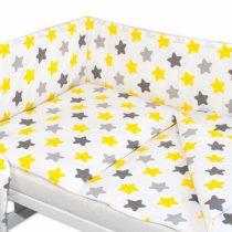 Baby Nellys 3 dielna sada mantinel s obliečkami – Hviezdičky