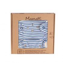 Mamatti Látková plienka EKO sada WORLD – nohavičky + 2 x plienka, 5-14 kg