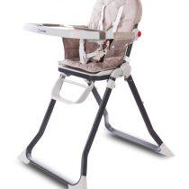 SUN BABY Stolička na kŕmenie Cubby – béžová
