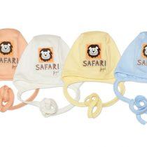 JAPITEX Novorodenecká čiapka s viazaním AFRICA