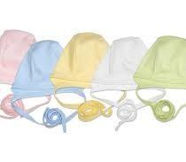 JAPITEX Novorodenecká čiapka s viazaním