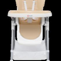 LIONELO Jedálenská stolička LINN PLUS – béžová