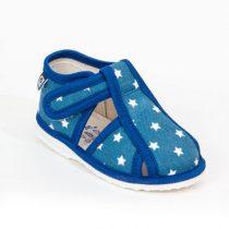 RAK Papuče modrá hviezda s uzavretou špicou